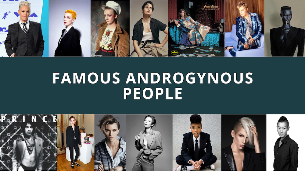 famous Androgynous people