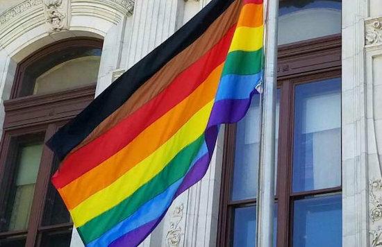 pride Flag brown