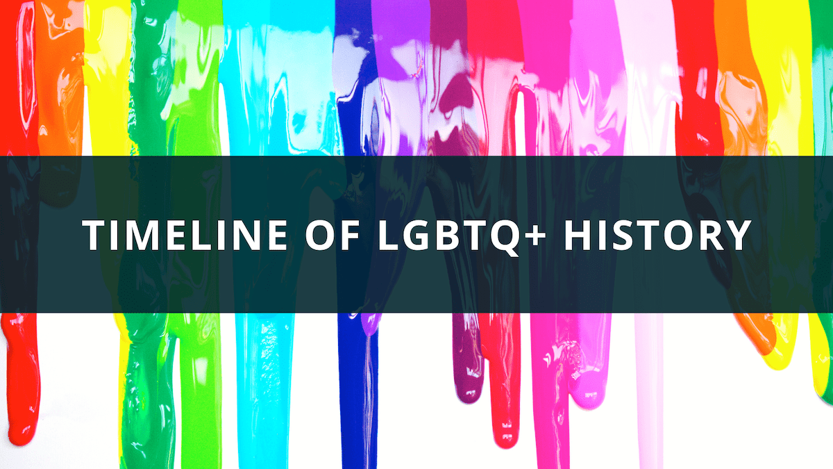 Timeline of LGBTQ History