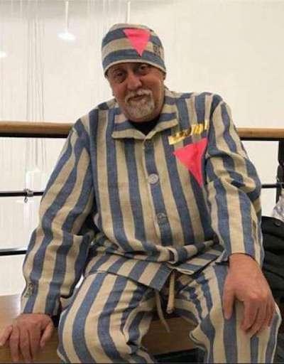 gilbert baker concentration camp uniform