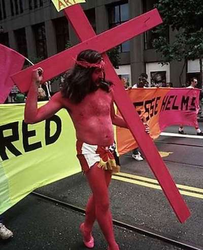 gilbert baker pink jesus