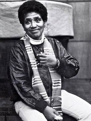 audre lorde smiling